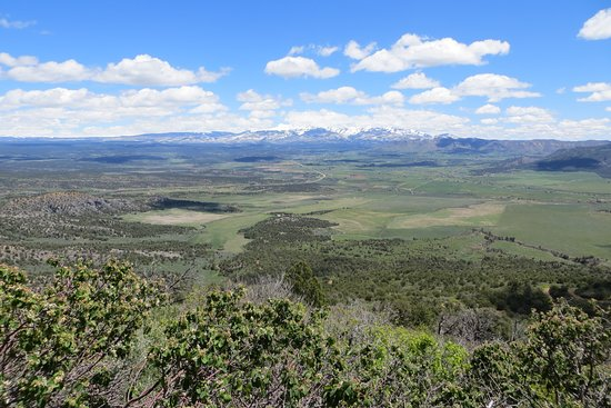 View. Mancos Valley Overlook, Mesa Verde National Park, CO. May 2019
