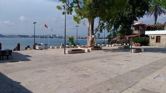 Antik Side kıyıları