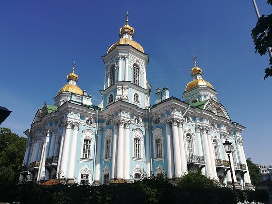 ‪St. Nicholas Cathedral in St. Petersburg‬