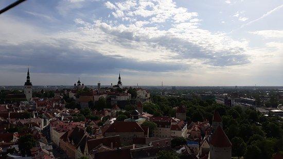 Fantastische Aussicht über die Stadt!