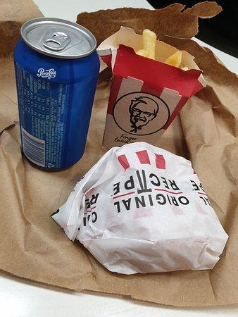 Even KFC next door