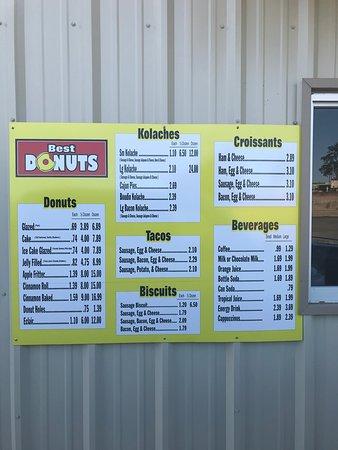 Brookeland, TX: donuts & coffee