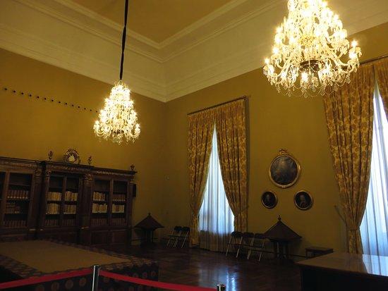 Biblioteca Nacional de España: una sala interna