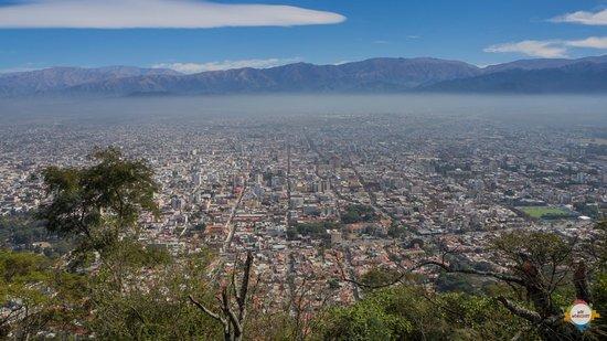 Σάλτα, Αργεντινή: Salta from San Bernado hilltop
