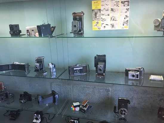 Porto, Portugália: Фотоаппаратура в музее фотографии.