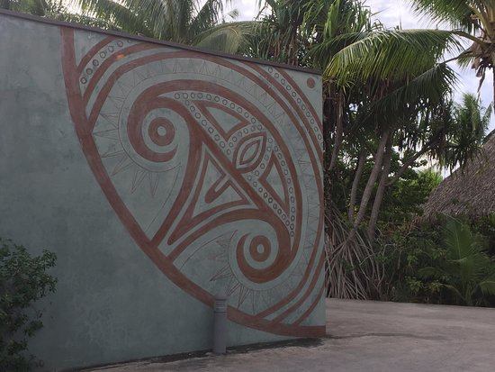Maitai Lapita Village Huahine: Architectural and cultural touches