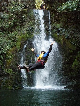 Geraldine, Neuseeland: Kaumira Canyon, the best canyoning experience in New Zealand.