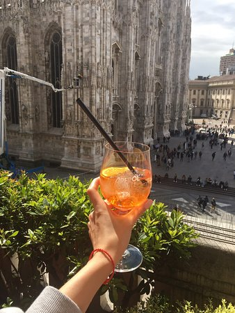 Terrazza Aperol Milan Scala Restaurant Reviews Photos