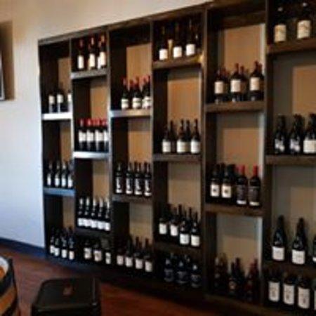 Comprehensive Wine selection