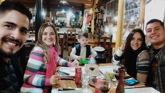 Jantar em La Barra
