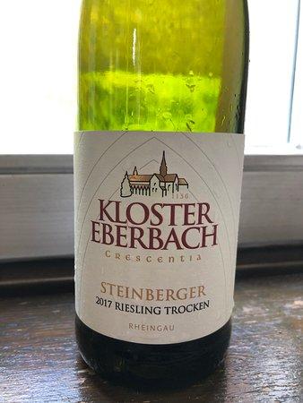 Klosterschaenke, Pfortenhaus Kloster Eberbach : 州立醸造所直営なので、自慢のシュタインベルガーが飲める。