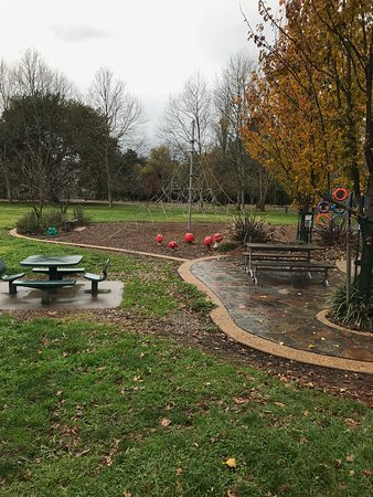 Children's play areas with seating for parents