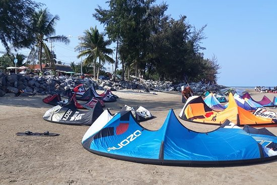 kitesurfing beach house