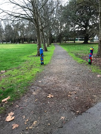 The Linear Park Arts Discovery Trail: Linear Park Trail