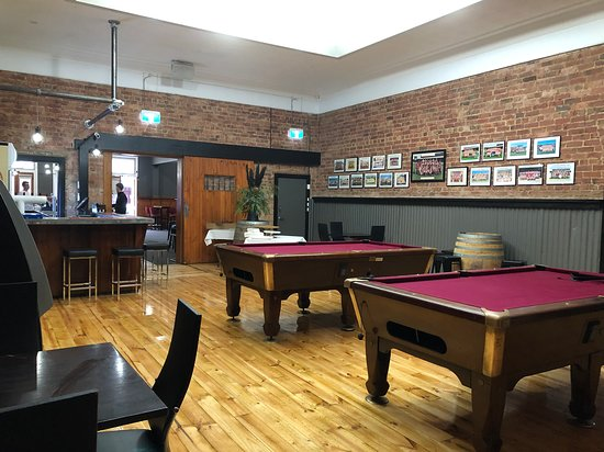 Enjoy a game of pool in our Sports Bar