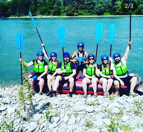 Piemonte Rafting: Fiume Po