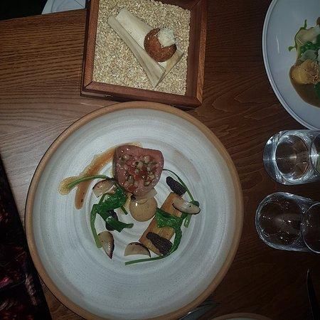 Fantastic meal, beautiful surroundings, attentive service