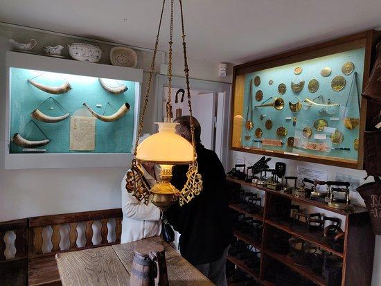 Interior of farmhouse