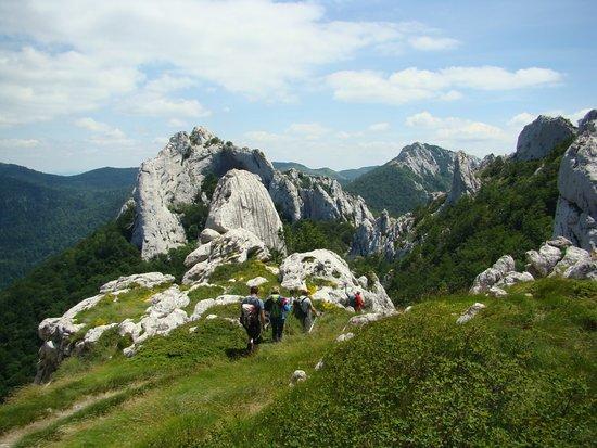 Lika-Senj County, Croatia: Lika region offers a lot of hiking possibilities. One of them is Dabarski kukovi, the spectacular 143 km long massif on Velebit mountain.