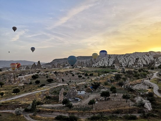 Cappadocia Hot Air Balloons by Butterfly Balloons: Just after the sunrise