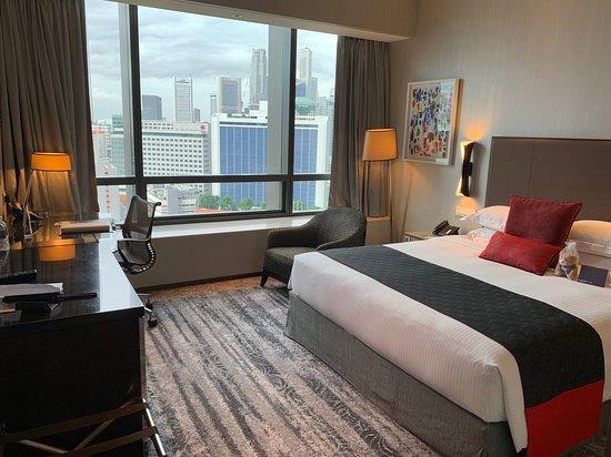 Carlton City Hotel Singapore: Deluxe room