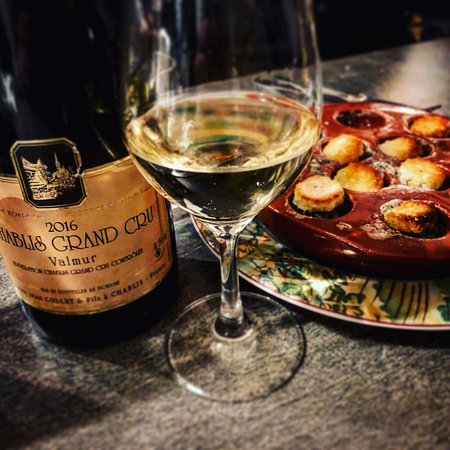 Chablis and snails