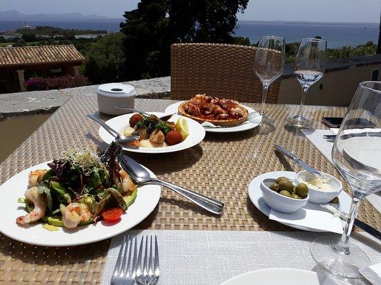 Restaurante Golf Alcanada: parte del menu