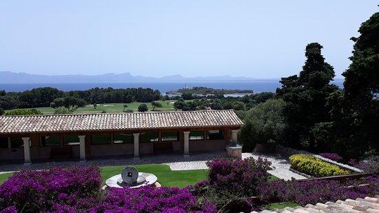 Restaurante Golf Alcanada: vista desde mesa