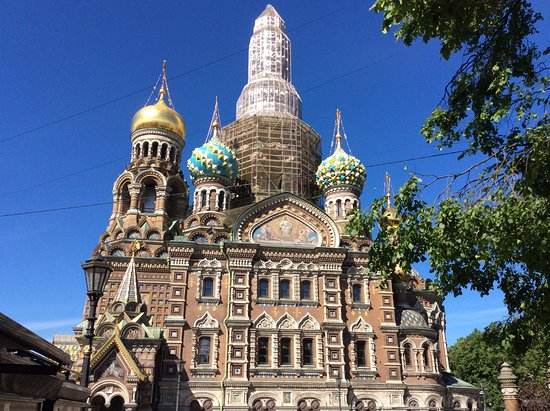 2-Day City Highlights Tour of St. Petersburg: Church of the spilled blood.