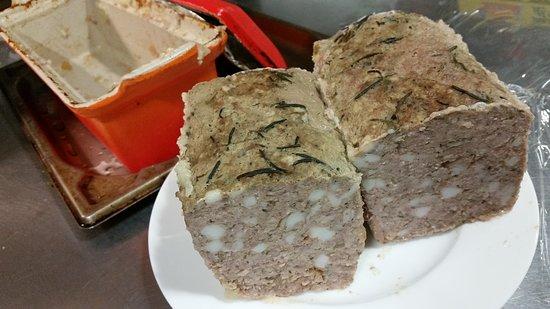 La Aerny Marris: 自家製の『鶏と茸のパテ』☆