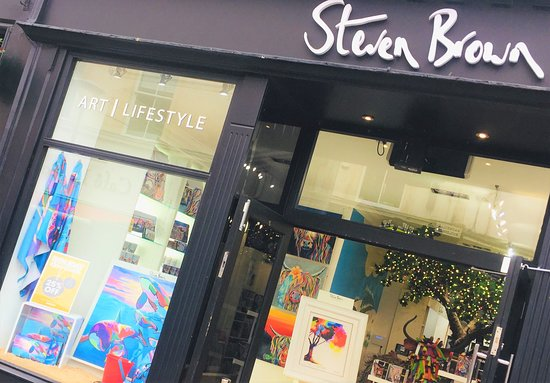 Steven Brown Art & Lifestyle Retail Store