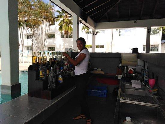 Bartender Yudy