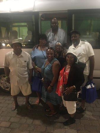 Μοντέγκο Μπέι, Τζαμάικα: Last night hanging out with AJ before returning home.