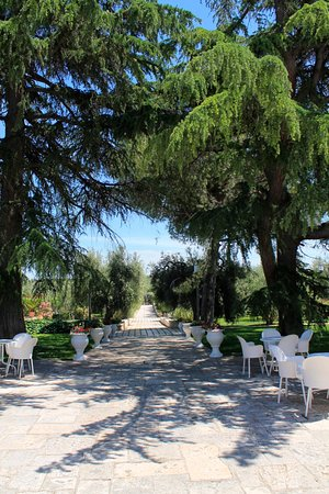 giardino della Dimora Storica Villa Ciccorosella