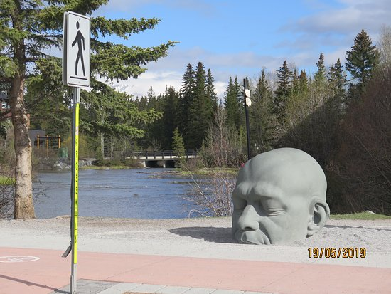 Big Head Sculpture