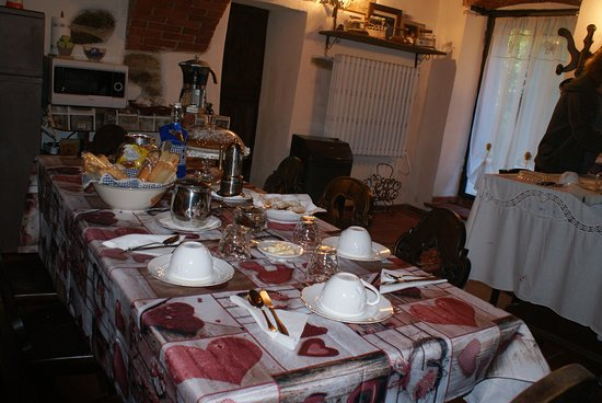 Bernezzo, อิตาลี: Sala colazione