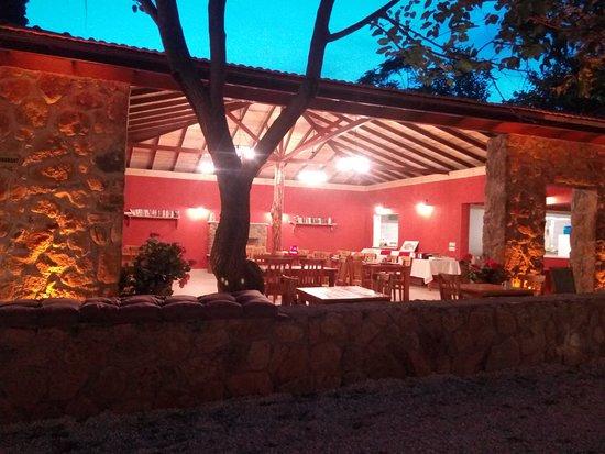 Ekincik, Tyrkiet: Gece taş restaurant.