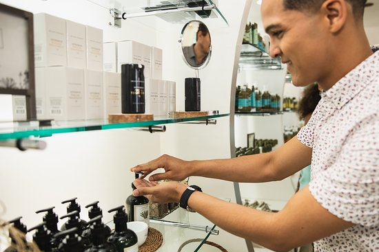 In our Aruba Aloe store, you can purchase all our different skin, sun and hair care products made here in Aruba.