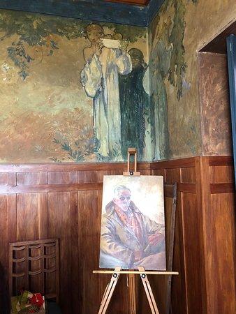 Secret room at Casa Cuseni