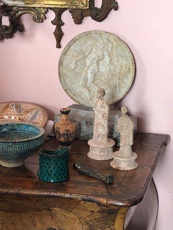 Museum items, Casa Cuseni