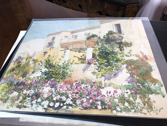 Robert Kitson painting