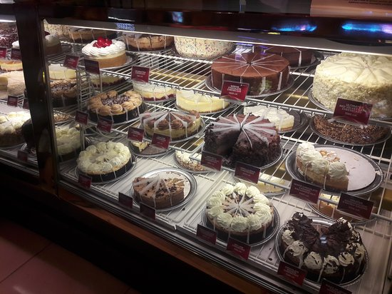 So many cheesecakes to choose from