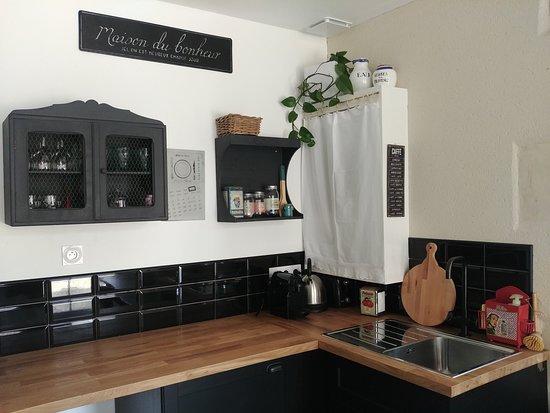cuisine du cottage le Nid de la Cantellerie