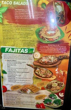 El Meson menu
