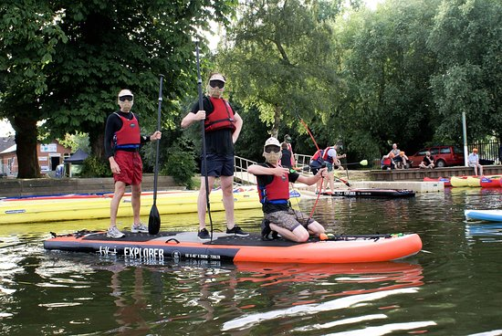 Pershore, UK: We do Stag and corporate groups, Were the only centre in the uk to teach Archery on Stand up Paddleboards