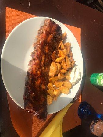 Leuk restaurant in Moreira