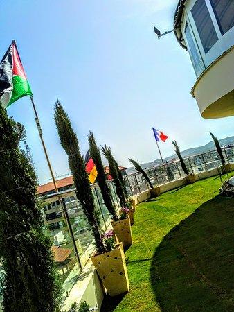 Tulkarm, Palestinian Territories: side garden