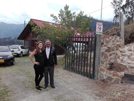 Gama, Kolumbia: Visitantes ala finca El Bejuco