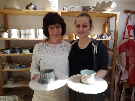 Clay with Carole: with our pots