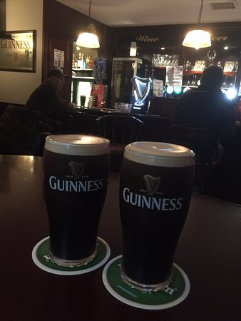 The Guinness is good!